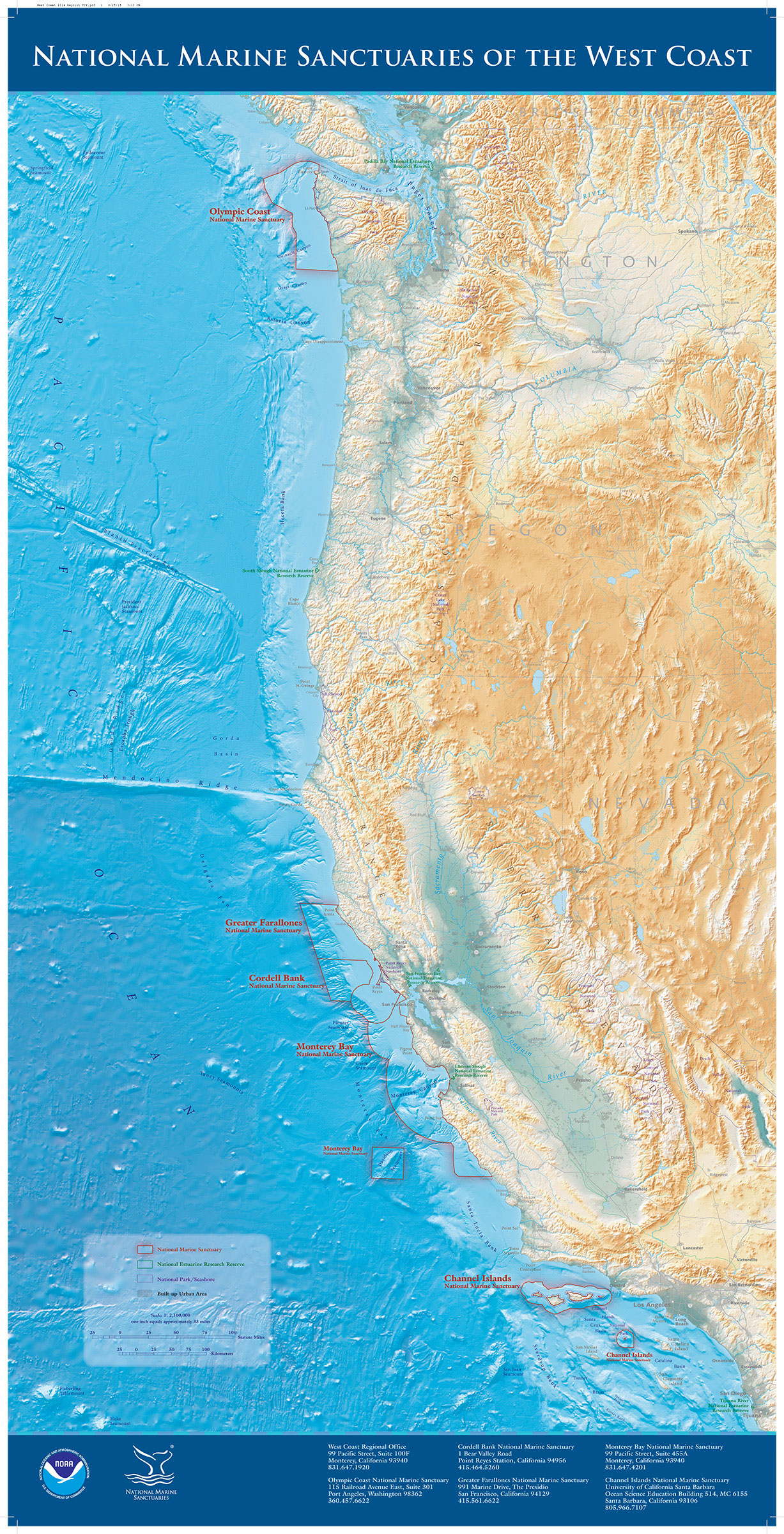 Maps | Office of National Marine Sanctuaries