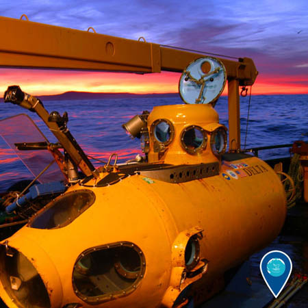 photo of a submersible