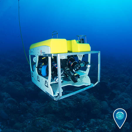 photo of an ROV