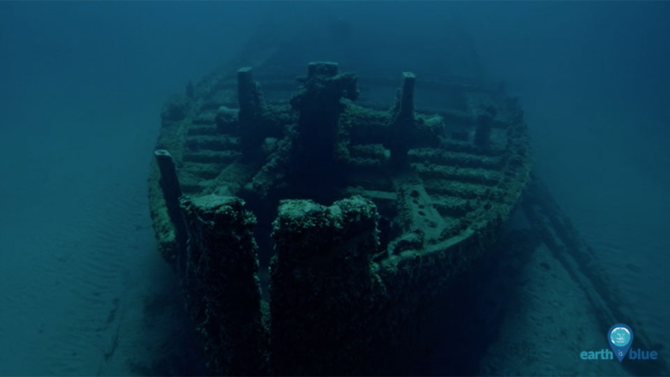 photo of the shipwreck wilson