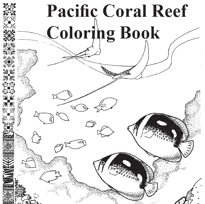 hawaiian coral reef coloring pages - photo#1