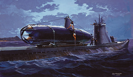 Japanese Mini Submarines at Pearl Harbor | Office of National Marine
