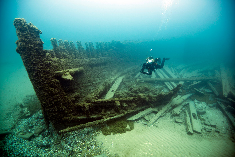 History Meets Technology In Shipwreck Alley Office Of