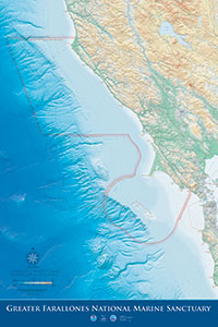 Gulf of the Farallones map