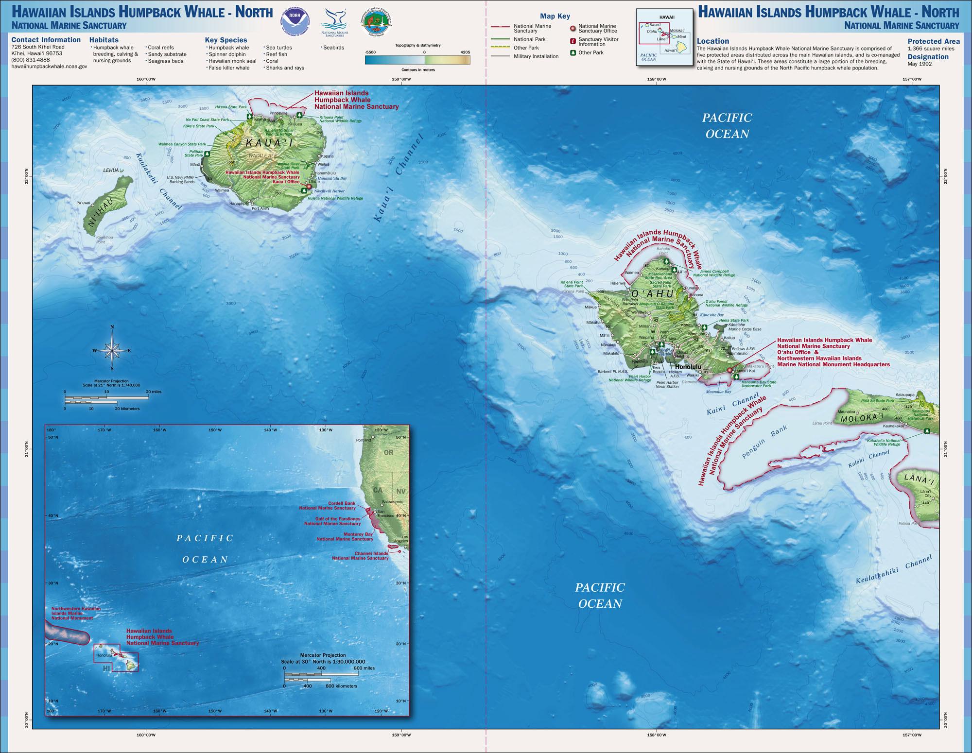 Worksheet. Pacific Islands Region  National Marine Sanctuaries