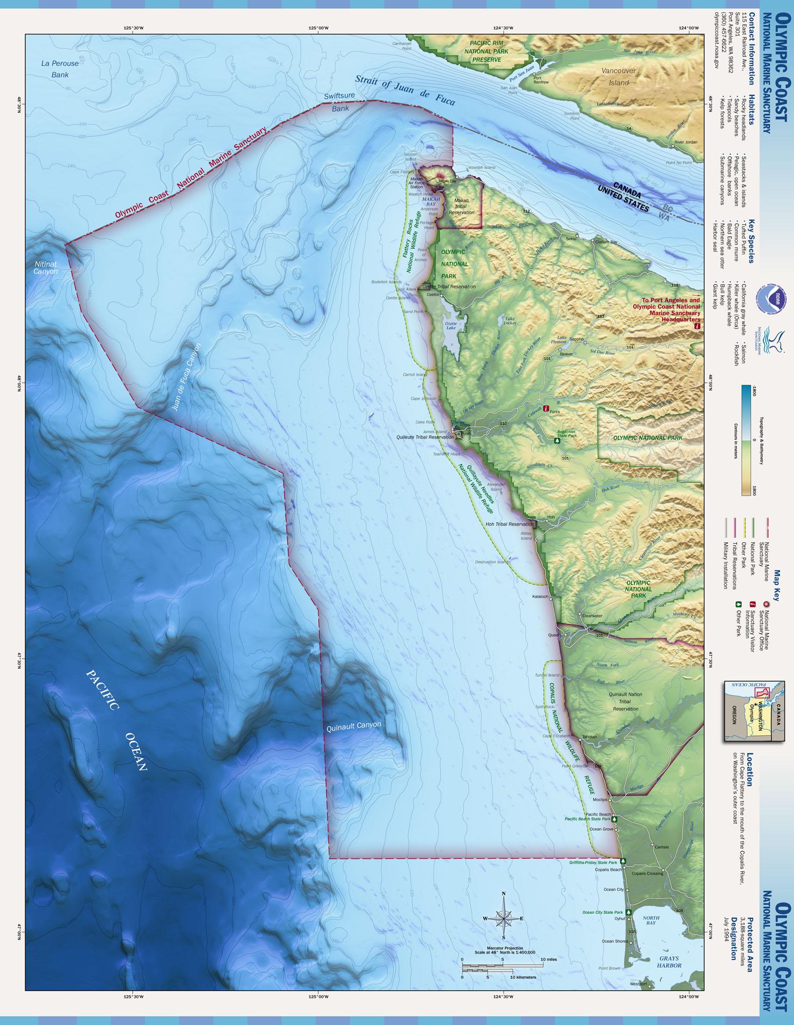 Maps | Office of National Marine Sanctuaries