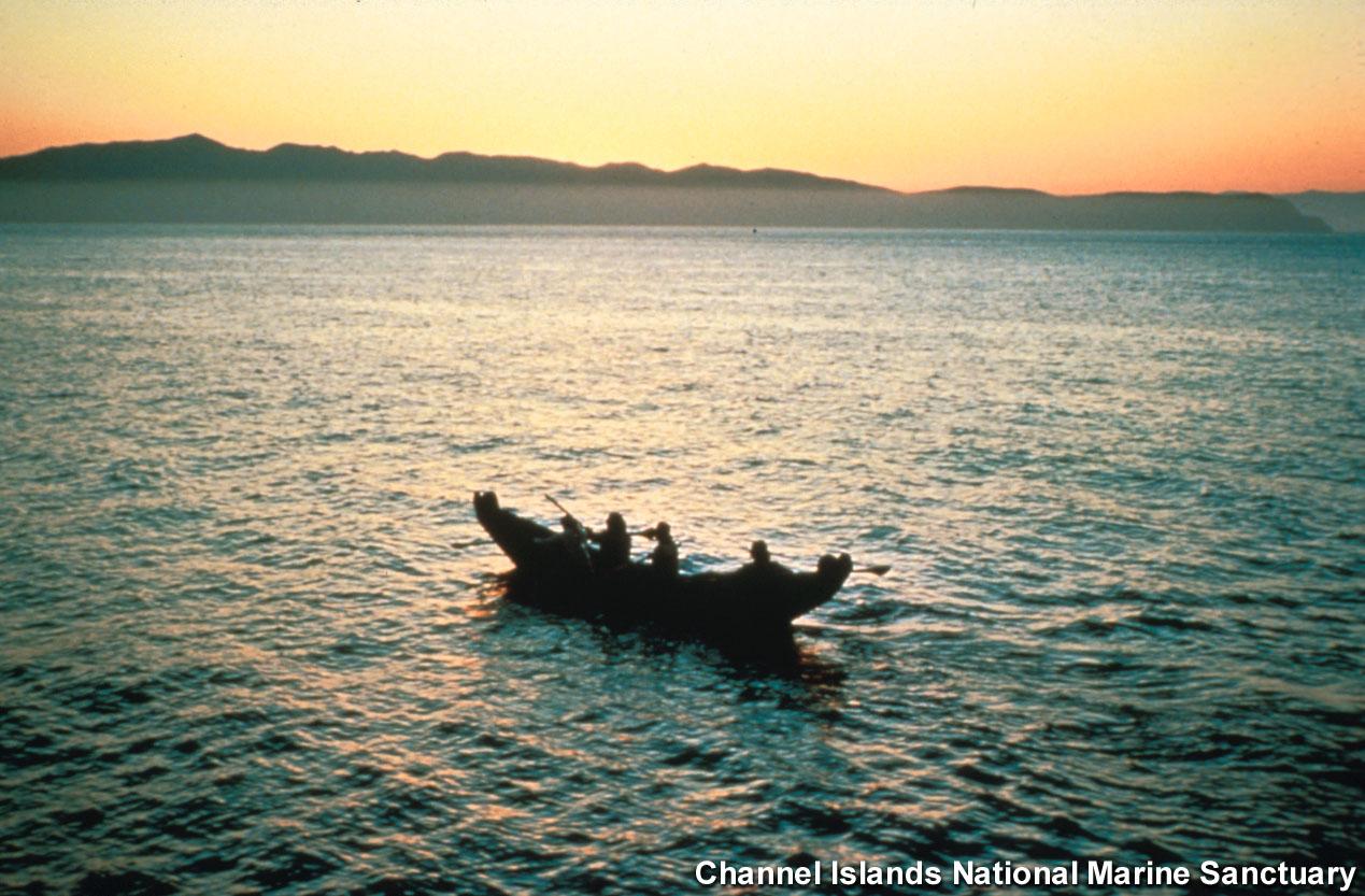 Channel Islands Nms Tomol Chumash Canoe