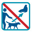 wildlife and pets don't mix icon
