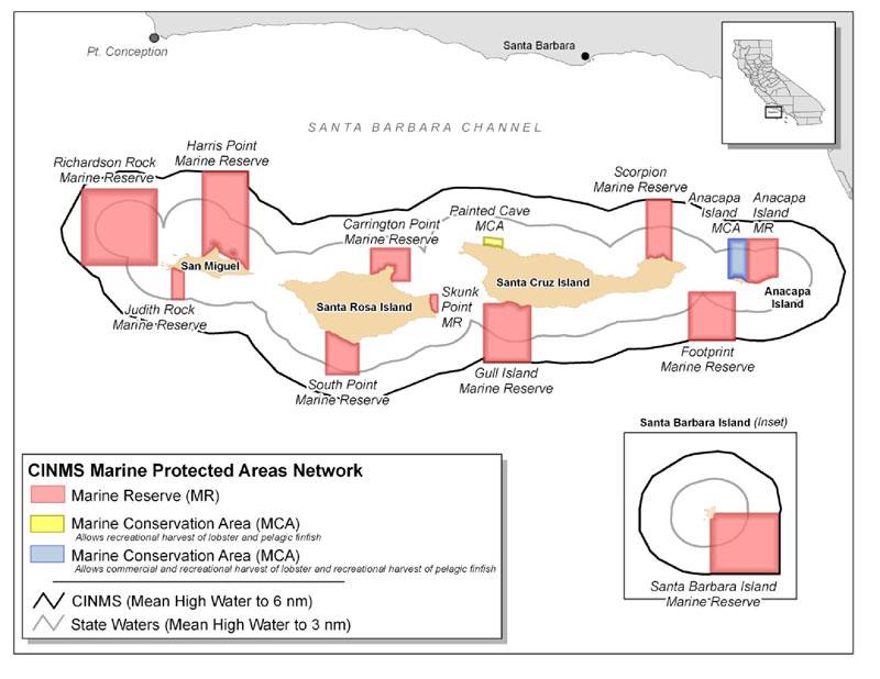 Channel islands 2009 condition report for Santa cruz fishing spots