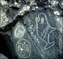 Figure 4. Human presence on the Olympic Coast predates historical records and attests to these cultures' long and intricate relationship with the marine environment. (Photo: Olympic Coast sanctuary)
