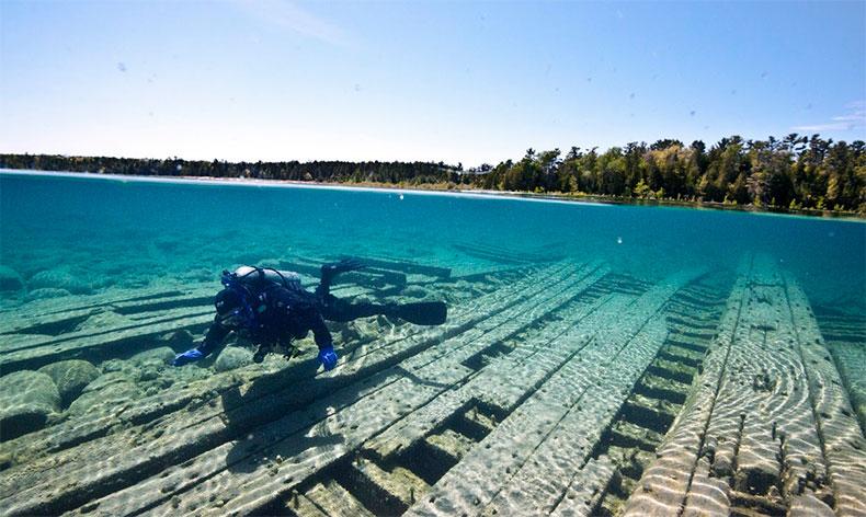 Image result for Thunder Bay Mi Shipwrecks