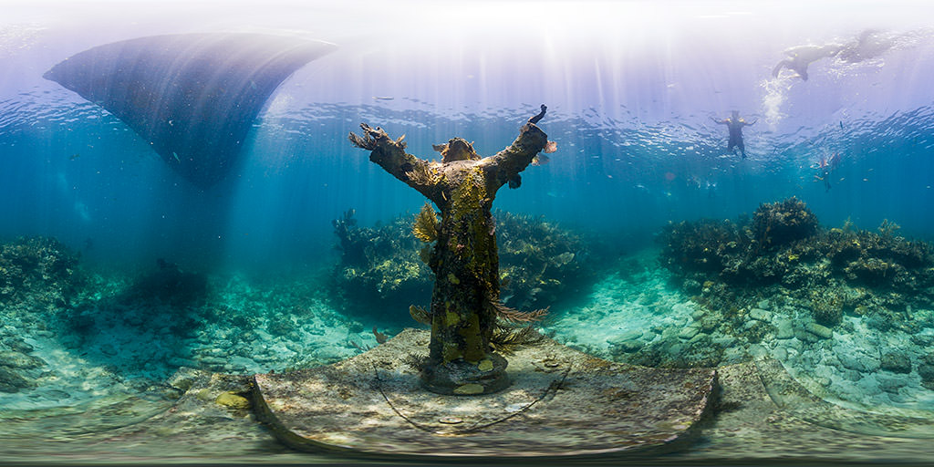 christ of the abyss in the florida keys
