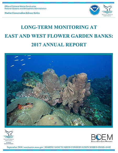 Long-Term Monitoring at East and West Flower Garden Bank: 2017 Annual Report cover