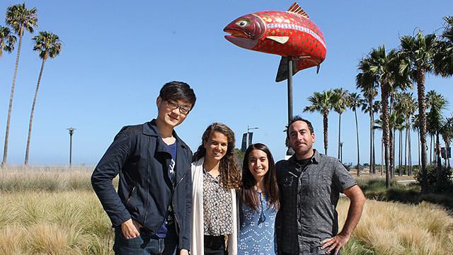 adam qian, isabella marill, stephanie gad, and sam furtner