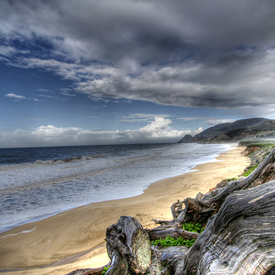 coastline at montara state beach
