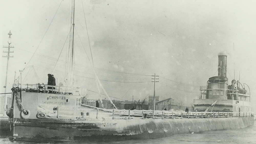 historical image of the steamer choctaw