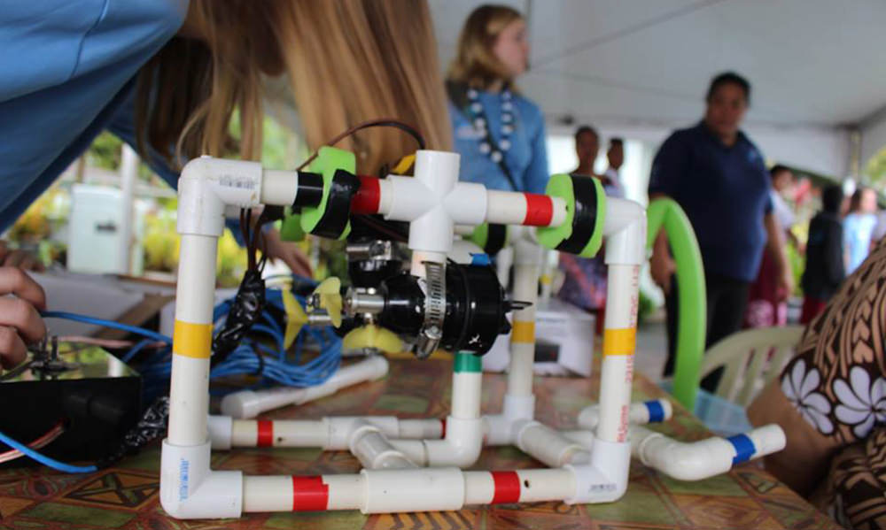 rov made out of pvc