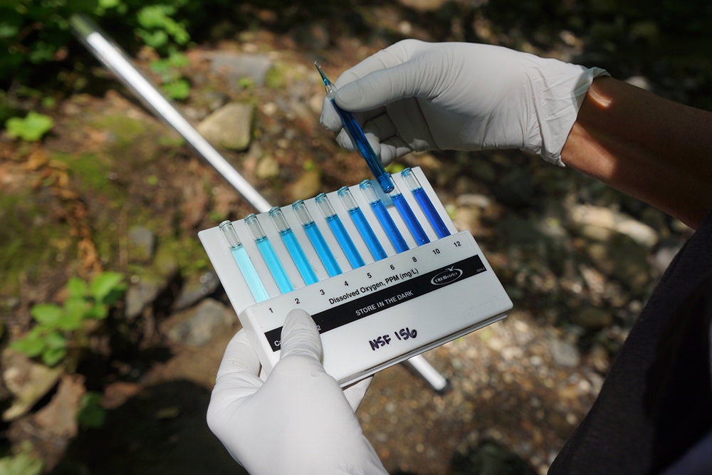 kit used to test dissolved oxygen
