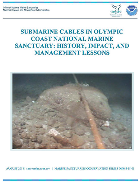 Image result for Submarine cables in Olympic Coast National Marine Sanctuary : history, impact, and management lessons