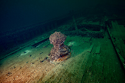 The wreck of the St.Peter