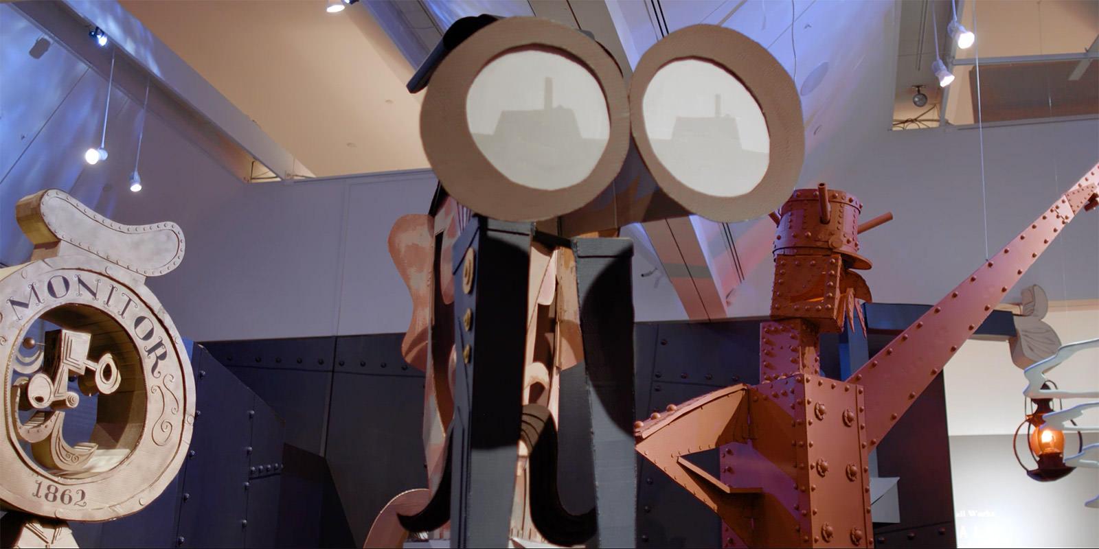 monitorium exhibit